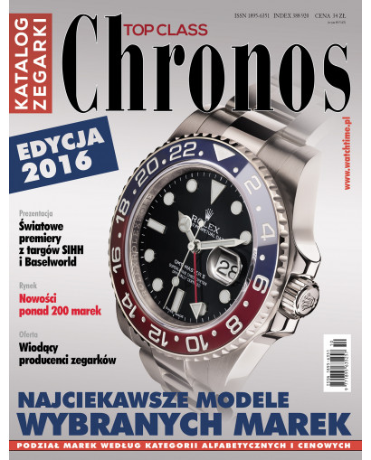 Chronos Katalog edycja 2016...