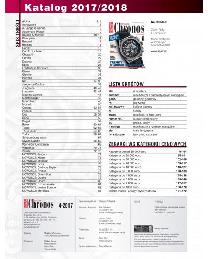 Chronos Katalog edycja 2018