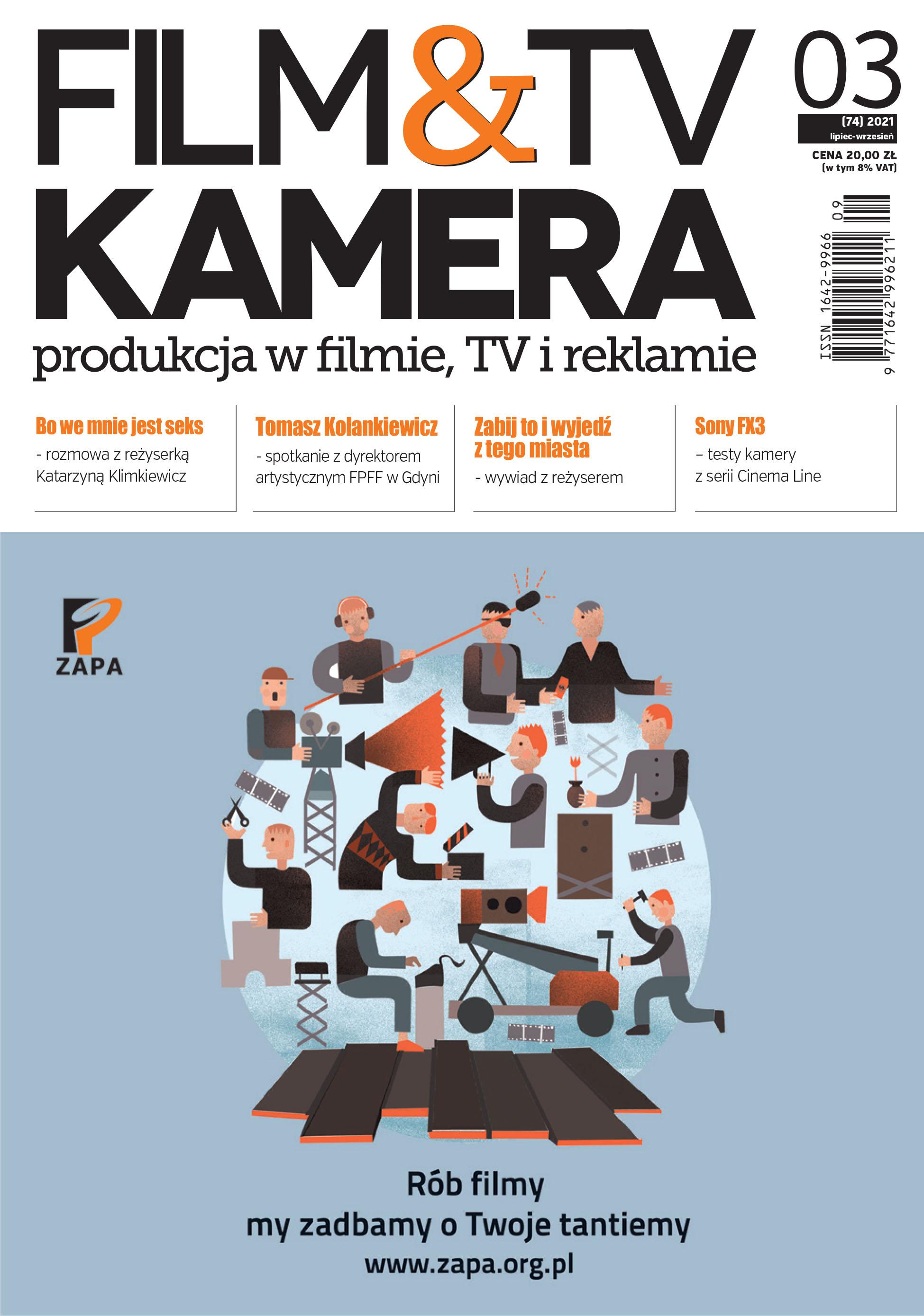 Nowe wydanie - Film&TV Kamera 03/2021