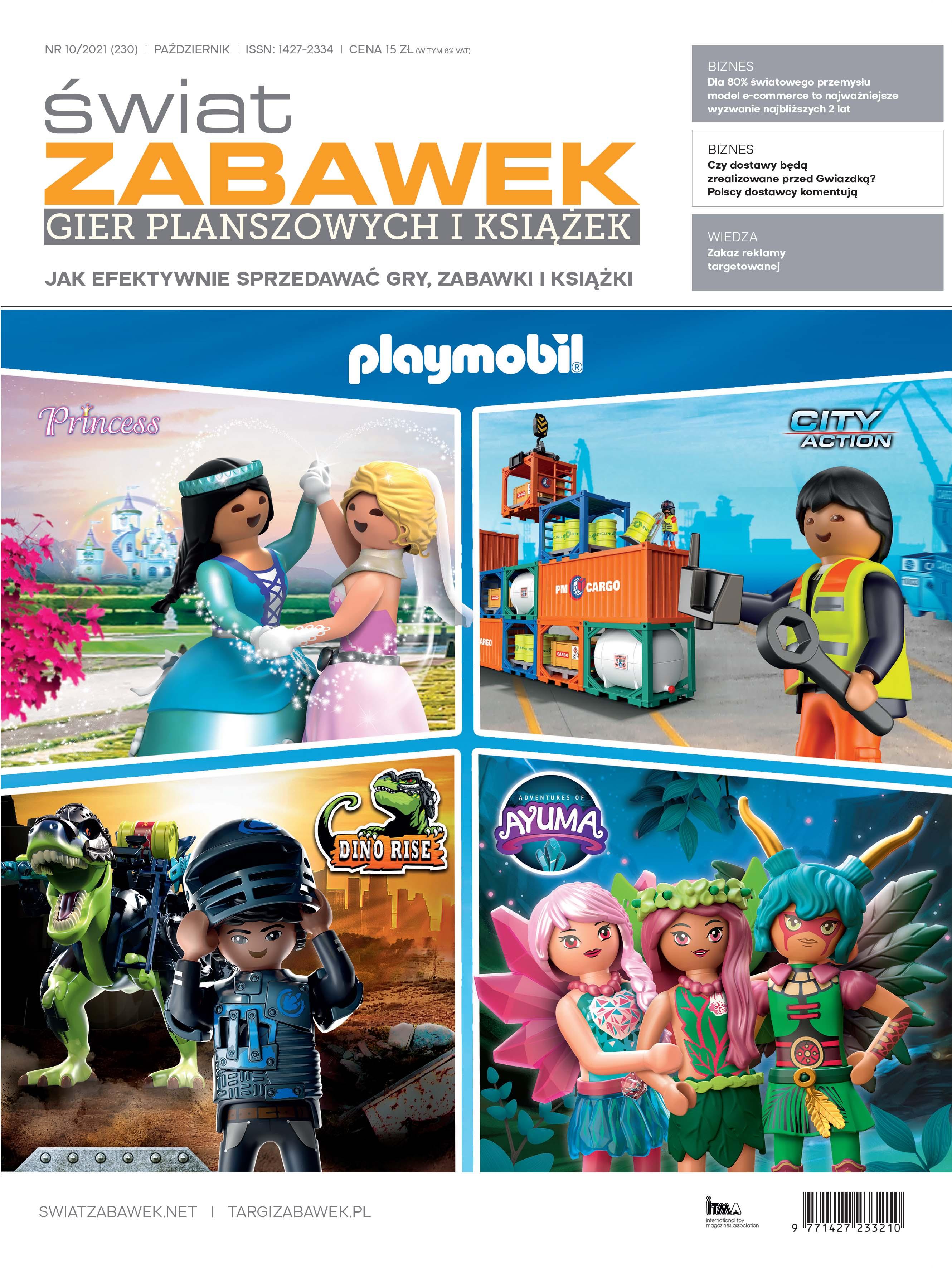 Nowe wydanie - Świat Zabawek 10/2021