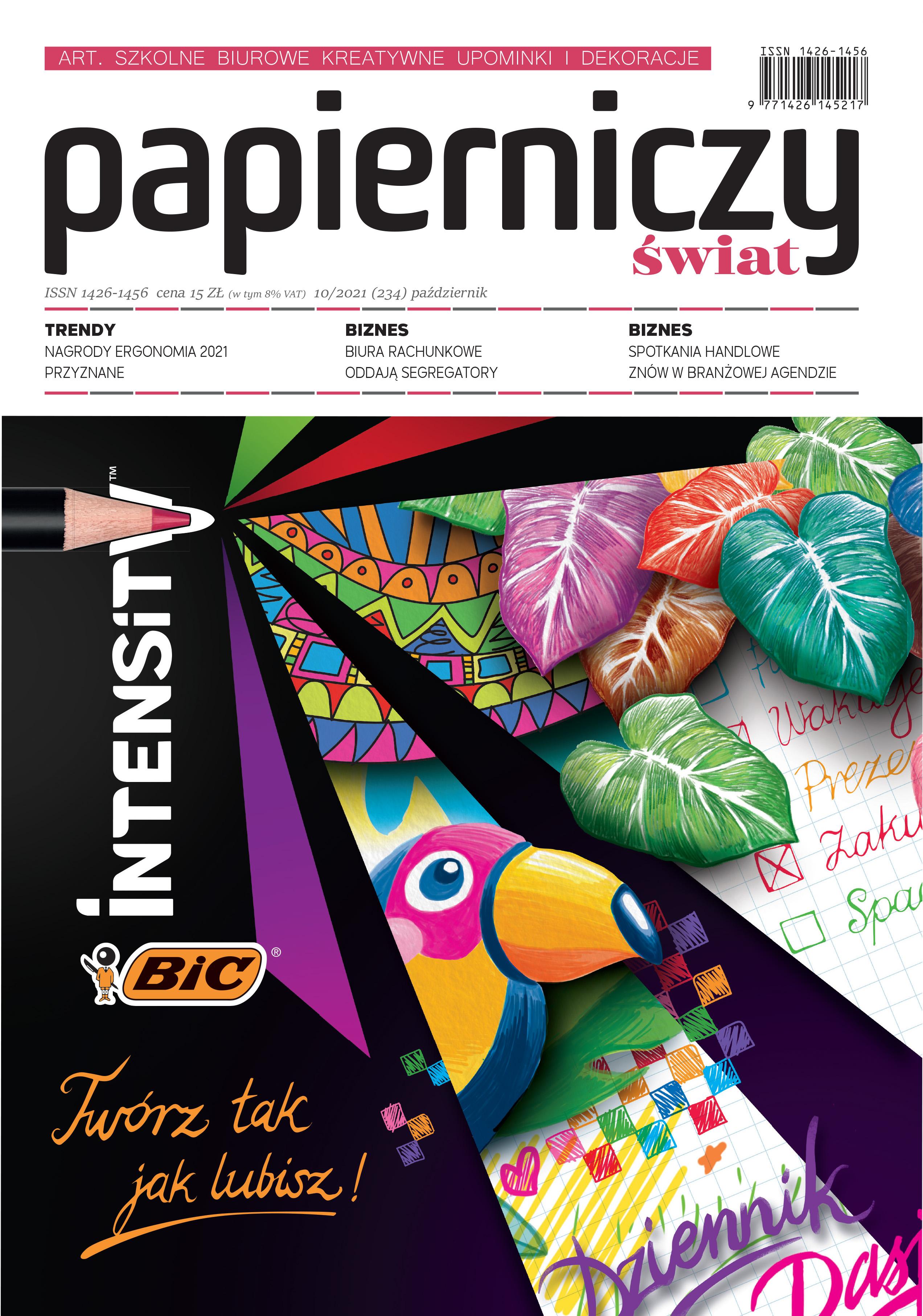 Nowe wydanie - Papierniczy Świat 10/2021
