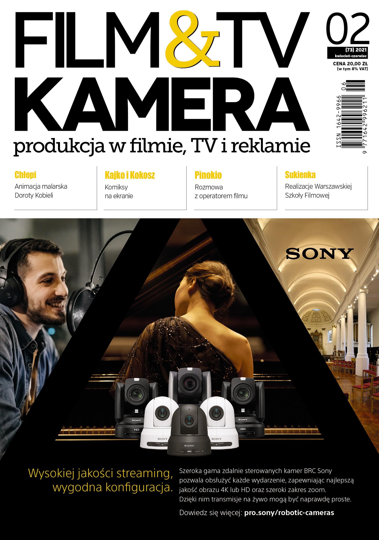 Nowe wydanie - Film&TV Kamera 02/2021