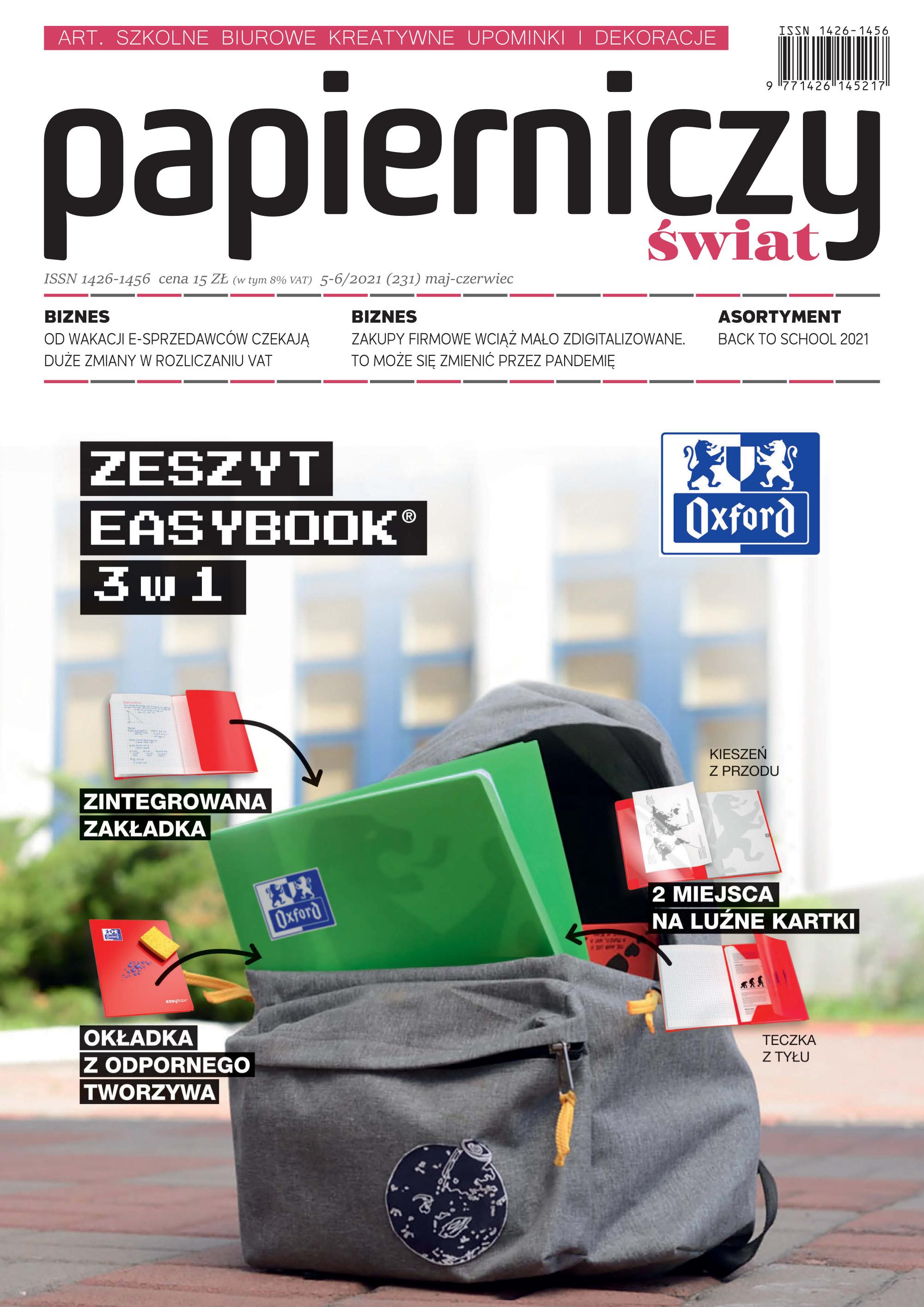 Nowe wydanie - Papierniczy Swiat 5-6/2021